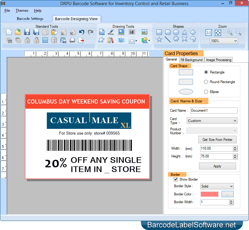 Barcode Software for Inventory Control