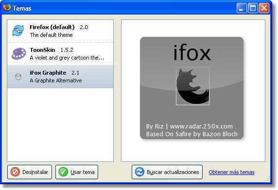 iFox Graphite