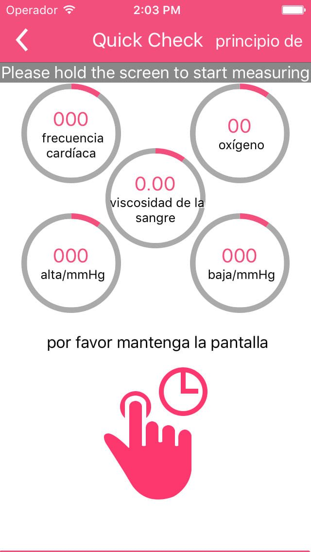 iCare Monitor de oxígeno Pro