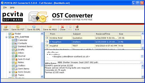 PCVITA OST Converter