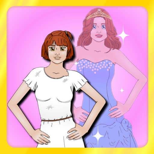 Princess Dress Up: Magic Book