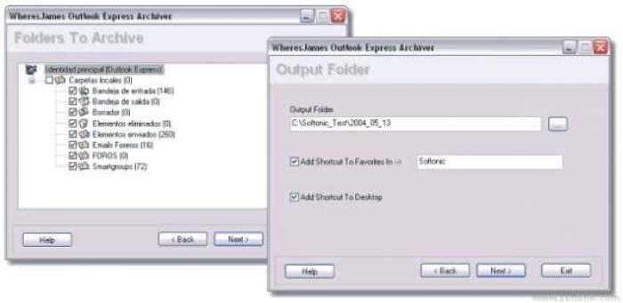 WheresJames Outlook Express Archiver