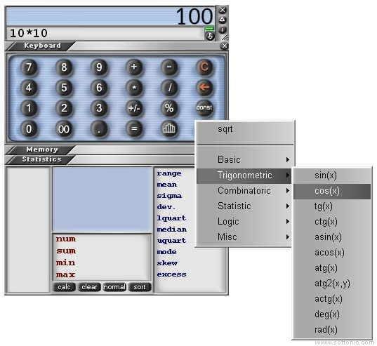 B&G Calculator