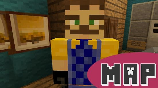 Maps Hello Neighbor for MCPE