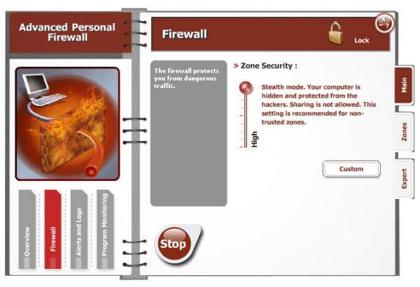 Advanced Personal Firewall