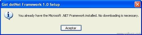Got dotNet Framework