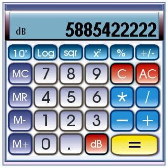 dBCalc dB SPL calculator