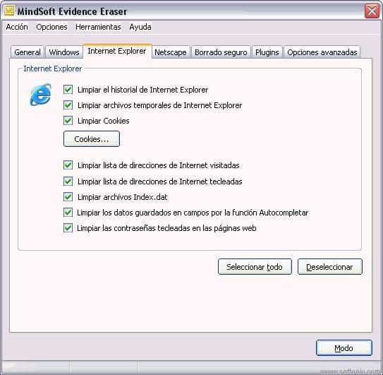 Mindsoft Evidence Eraser