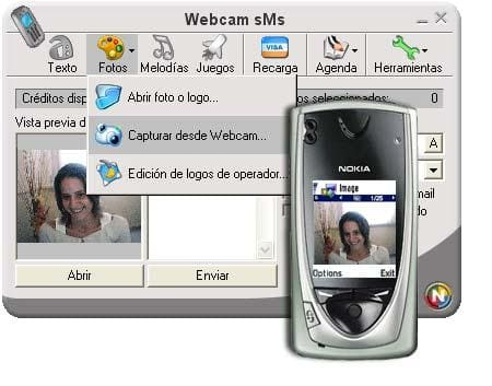 Webcam SMS