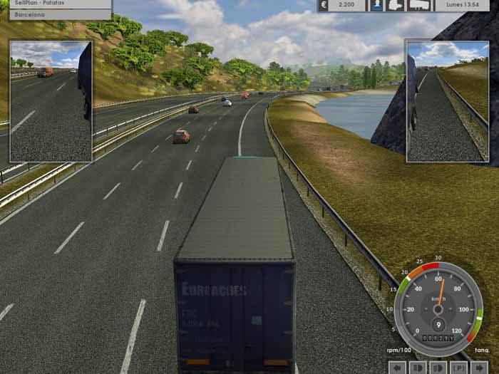 jeux de camion simulator