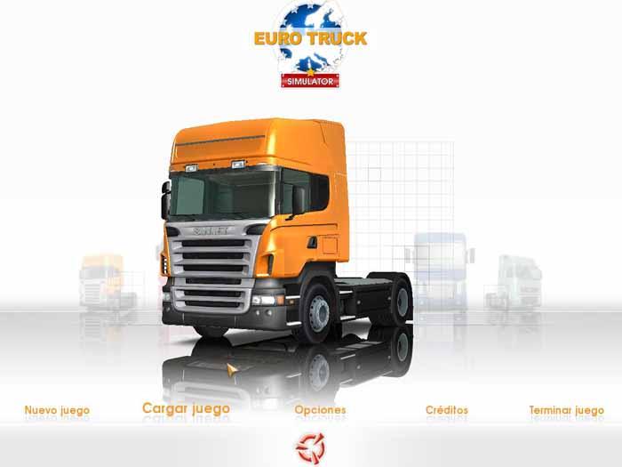 EURO TRUCK SIMULATOR - Vários tipos de caminhões