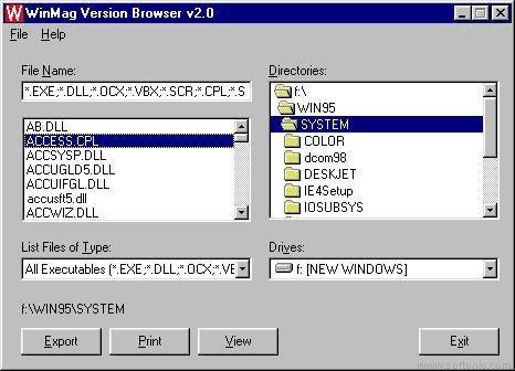 Version Browser
