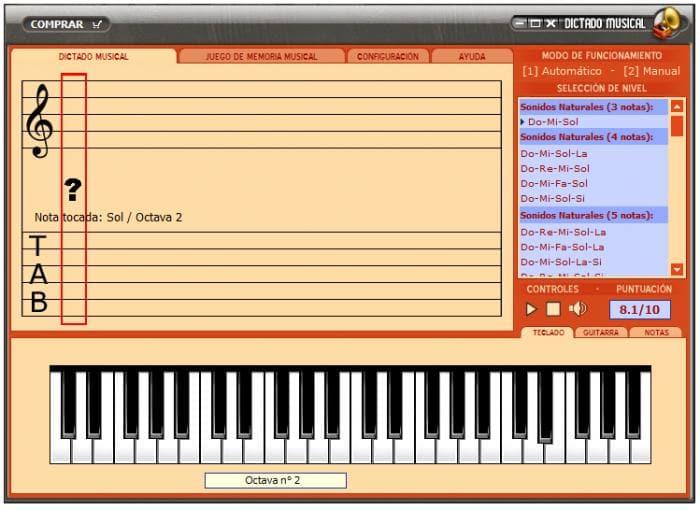 Dictado & memoria musical