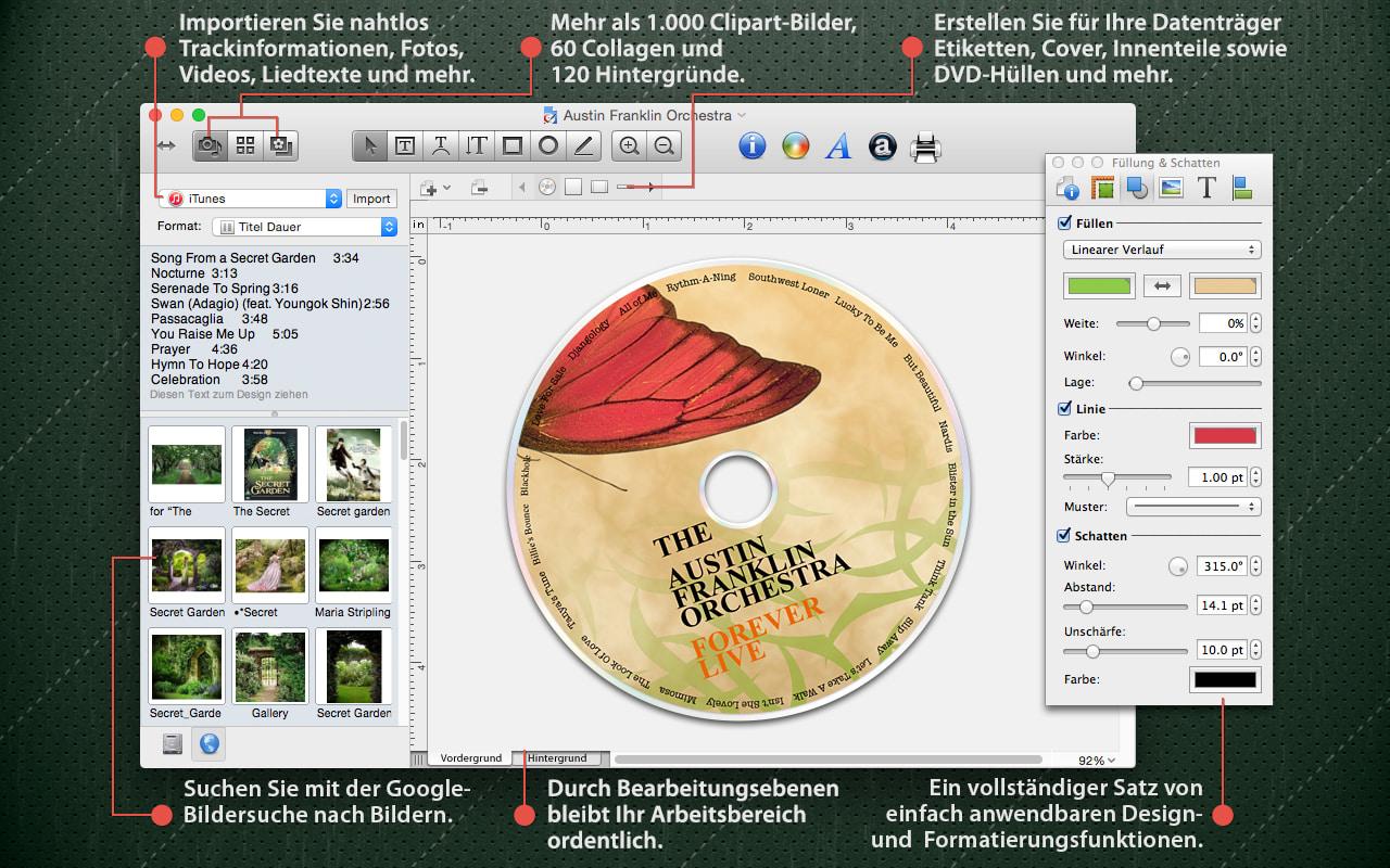 Disc Cover für Mac - Download