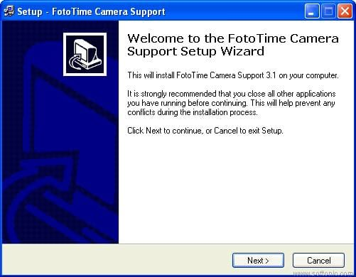 FotoTime Camera Support