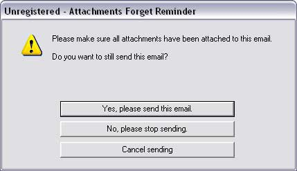Attachments Forget Reminder
