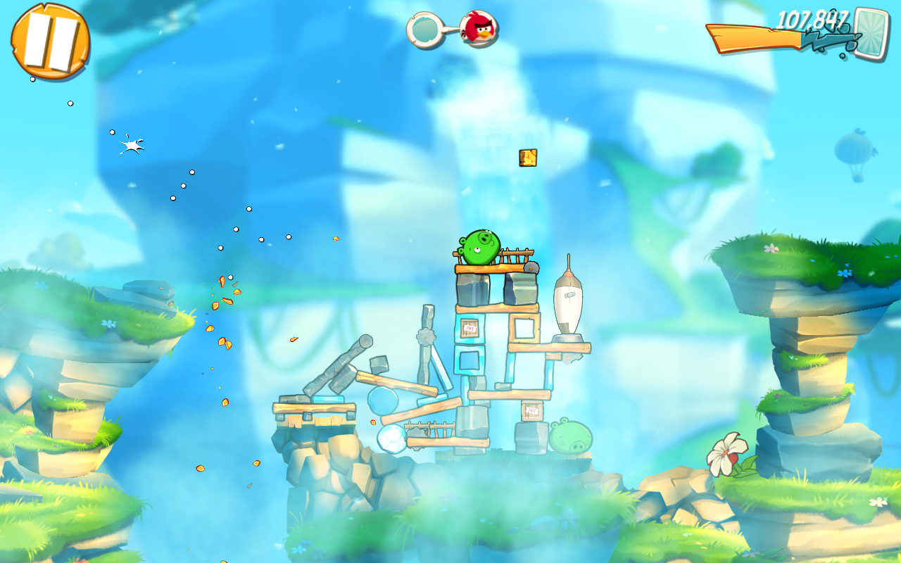 Angry birds 2 for android download angry birds 2 features all the same heroic birds but gives them new powers and a face lift this is your chance to get hooked all over again voltagebd Choice Image