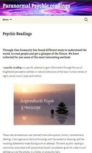 Hipnosis - lectura de la palma