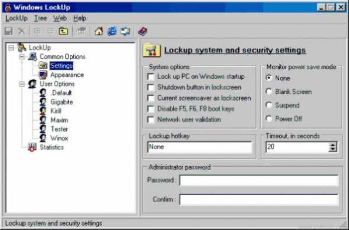 Windows LockUp