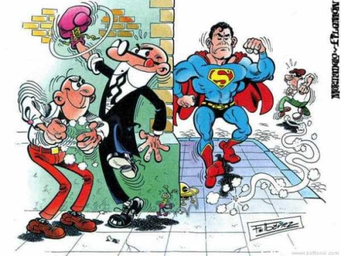 Mortadelo y Filemón Wallpaper