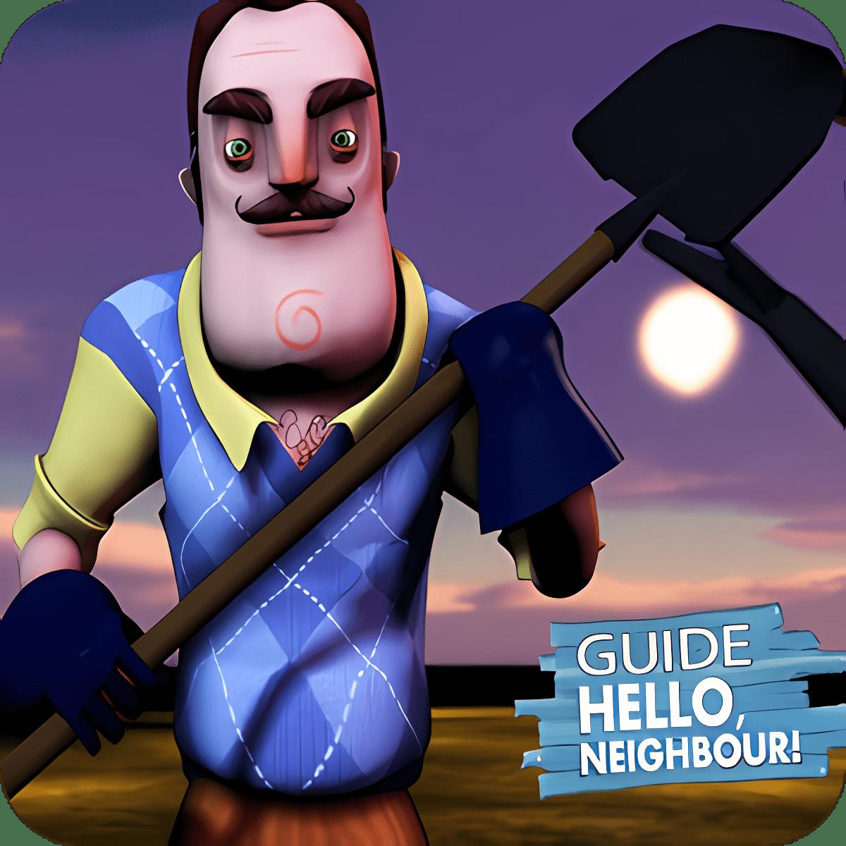 Guide of Hello neighbor Alpha 1.0