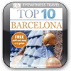 Barcelona DK Eyewitness Top 10 Travel Guide & Map