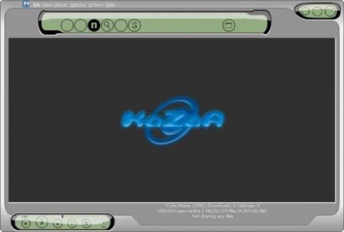 Digital KaZaA Skin