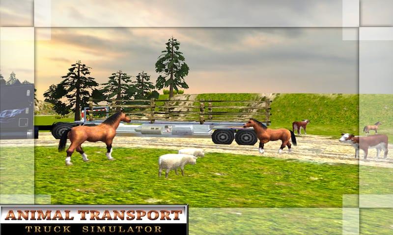 Offroad Animal Transport Truck