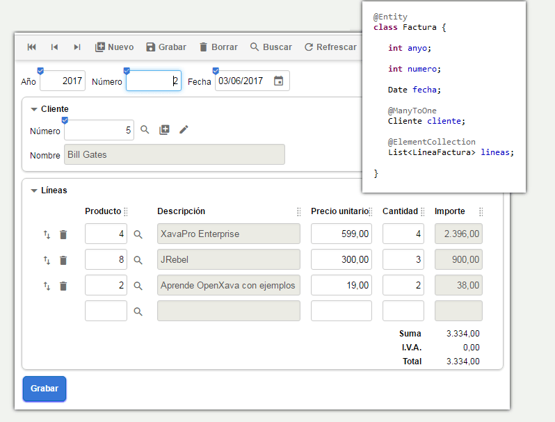 OpenXava