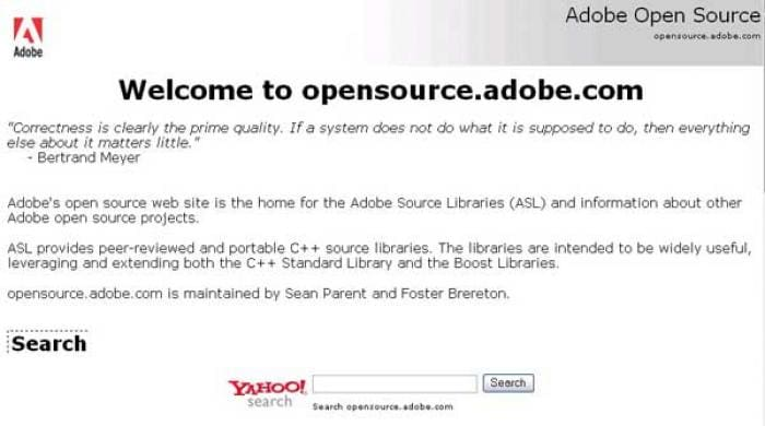 Adobe Source Libraries