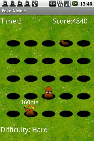 Poke a mole