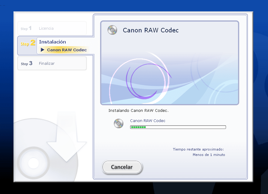 Canon RAW Codec