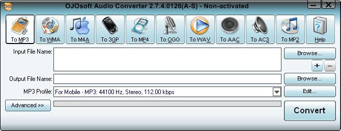 OJOsoft Audio Converter