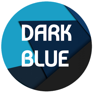 Dark Blue Theme For LG G6 - G5 - V20 - V10 - K10