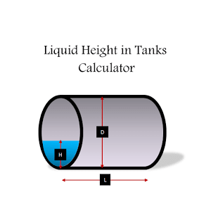 Liquid Height in Tanks Free