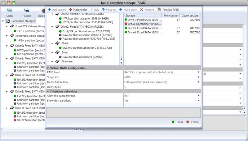 UFS Explorer RAID Recovery (MacOS)