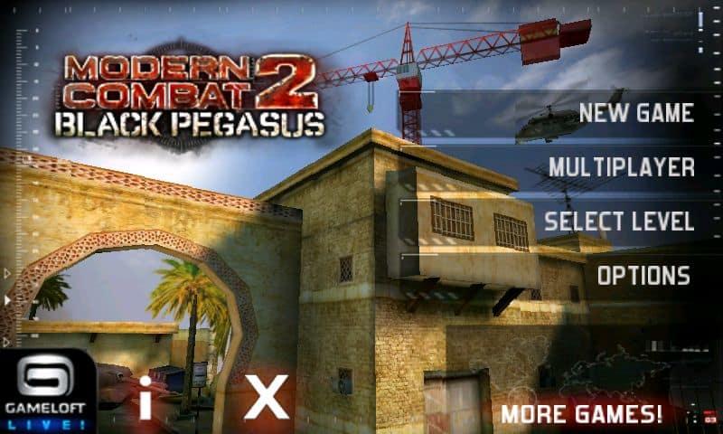 Download Game Modern Combat 2 Black Pegasus Apk - lostflyer