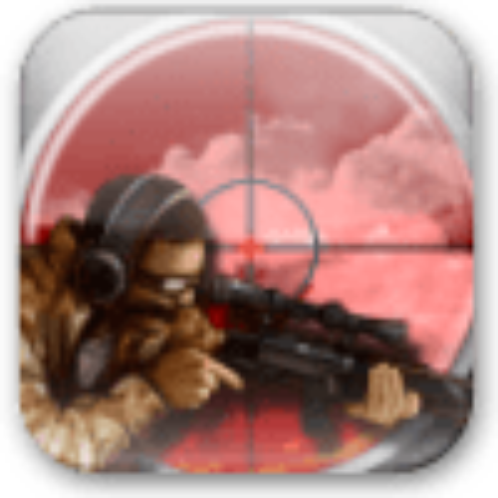 Tireur d'élite Army Sniper