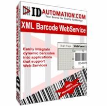 IDAutomation XML Barcode Webservice