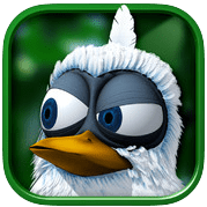 Sprechender Vogel Larry für iPad