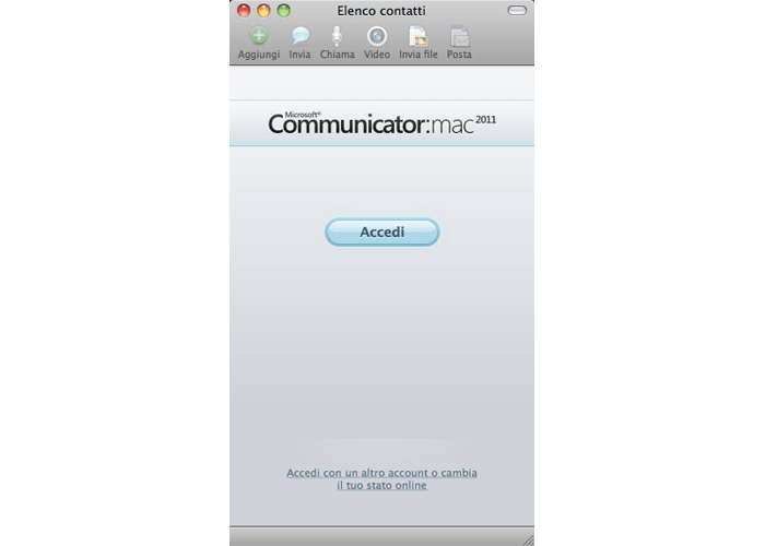 Microsoft Communicator 2011