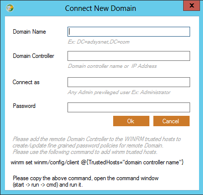 AdSysNet AD Password Policy
