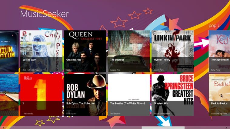 MusicSeeker para Windows 10
