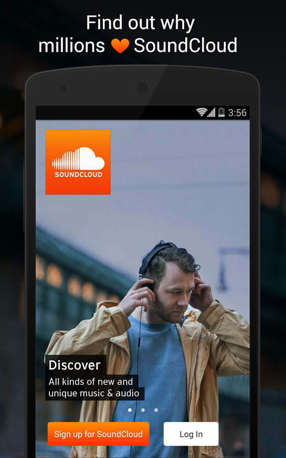 Soundcloud for android download soundcloud is an interesting audio app that allows you to record sounds and share them with a growing community of users view full description soundcloud ccuart Image collections
