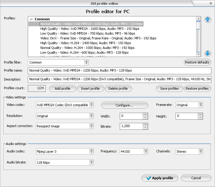 Augart Video Converter