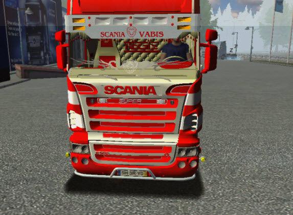 Euro Truck Simulator Scania R500 Ferrari Mod