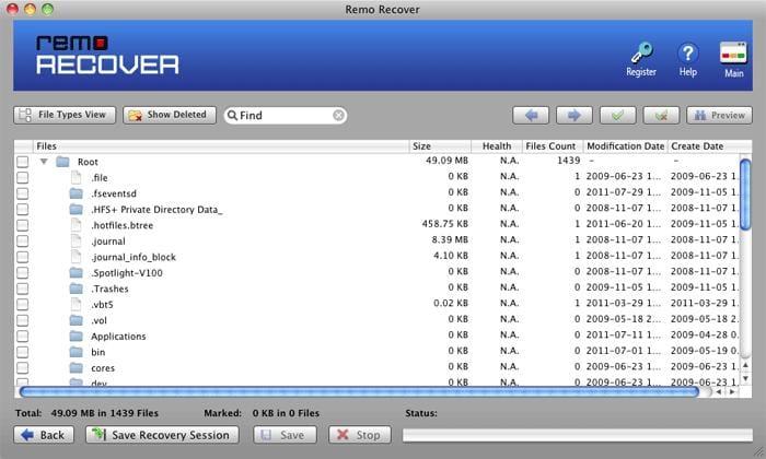 Remo Recover (Mac)
