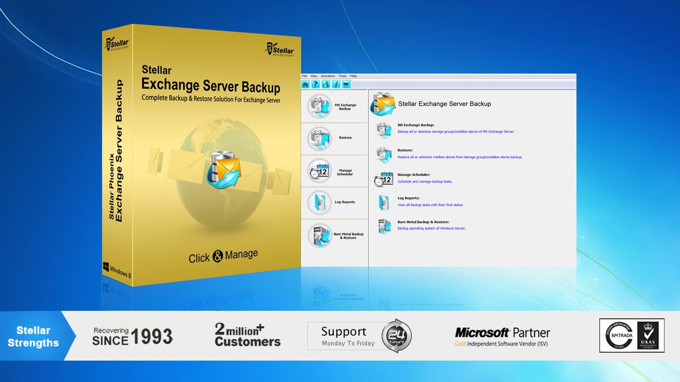 Stellar Phoenix Exchange Server Backup