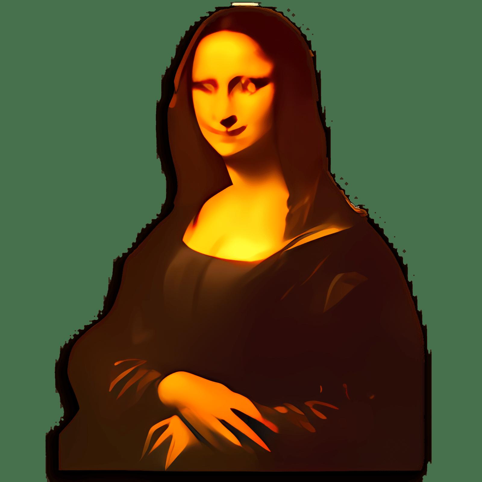 Bildschirmschoner 3D Mona Lisa Dances to Bolero
