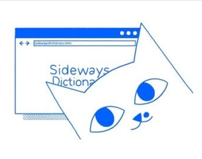Sideways Dictionary